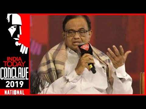 Chidambaram: Don\'t Compare UPA\'s High Growth With NDA\'s Fake Growth Numbers | IT Conclave 2019