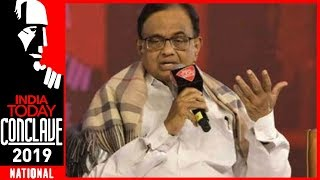 Chidambaram: Don't Compare UPA's High Growth With NDA's Fake Growth Numbers | IT Conclave 2019