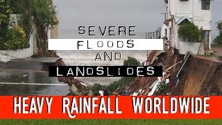 🔁🥈Massive Flooding and Landslides Heavy Rain Worldwide GSM News - The Grand Solar Minimum Channel