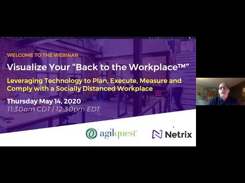 "WEBINAR: Visualizing Your ""Back to the Workplace"""