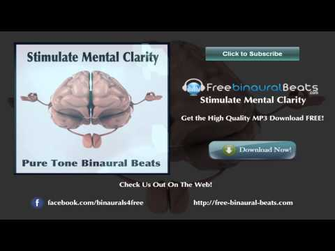1 Hour Stimulate Mental Clarity ~ Alpha Binaural Beats (12 hz)