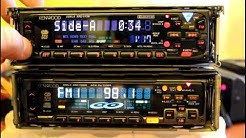 Kenwood KRC-777R cassette & KDC-7060R cd player car stereo