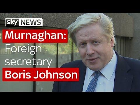 Murnaghan: Foreign secretary Boris Johnson
