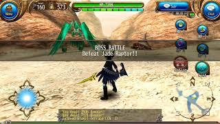 02:07 Jade Raptor (Nightmare) Solo No Consumable Buff - Toram Dual Sword 160