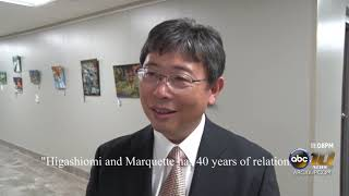 Marquette celebrates 40 years of kinship with sister city Higashiomi, Japan