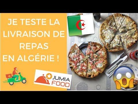 SE FAIRE LIVRER UN REPAS EN ALGERIE ? JE TESTE JUMIA FOOD ! 😱🍕