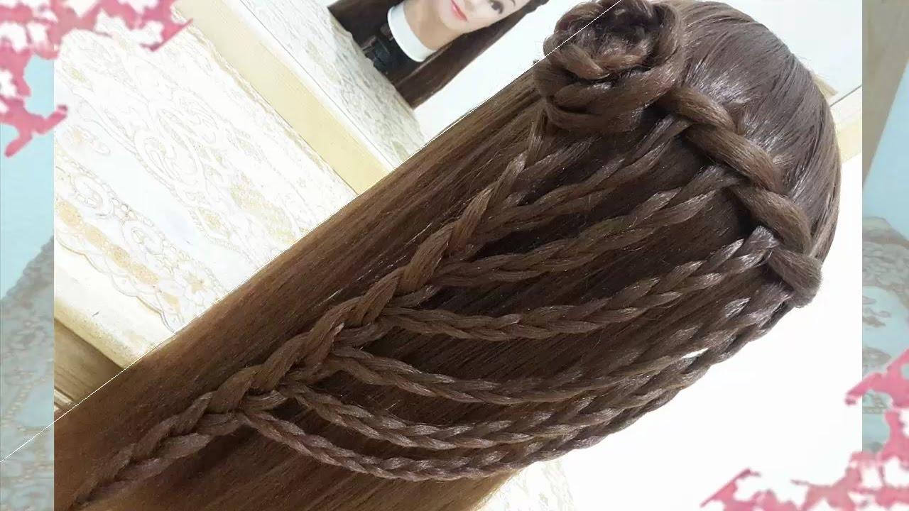 Peinados sencillos faciles para cabello largo bonitos y - Peinados fiesta faciles ...