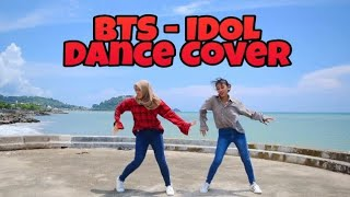 K-POP IN PUBLIC CHALLANGE - BTS - IDOL Dance Challange [Camel & Tania]