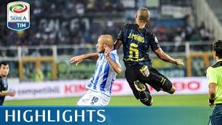 Pescara-inter 1-2marcatori: st 18' bahebeck, 32' e 46' icardipescara (4-3-2-1): bizzarri; zampano, gyömbér, campagnaro, biraghi; cristante, brugman, memushaj...