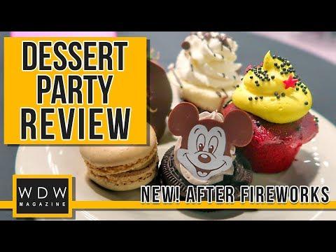 Magic Kingdom's After-Fireworks Dessert Party