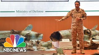 Saudis Show Missile Wreckage, Blame Iran For Oil Attacks | NBC News