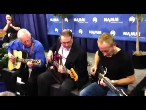 Mike Huckabee, Phil Collen, and Martin Guitars jam it o ...