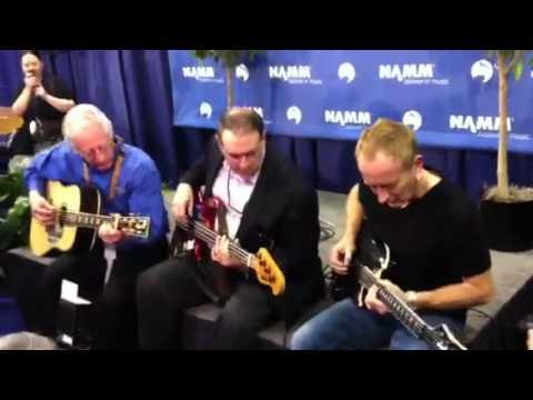 Mike Huckabee, Phil Collen, and Martin Guitars jam it o ...