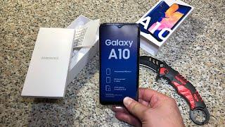 Распаковка Samsung A10 2019 за 10к - Самый бюджетный самсунг
