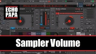 Virtual DJ 8: Sampler Volume