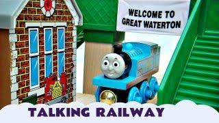 Wooden Railway Interactive Talking Great Discovery  Thomas And Friends Kids Toy Train Set