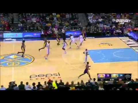 LA Lakers vs Denver Nuggets Highlights December 30, 2014 NBA Season 2014 15