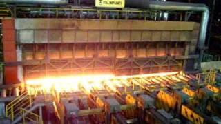 arcelor mittal - inside a steel factory