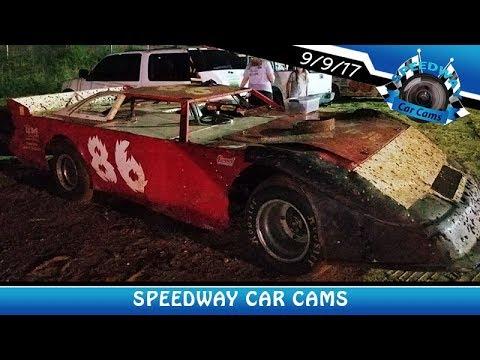 #86 Jason Lindbom - A-Hobby - 9-9-17 Fort Payne Motor Speedway - In Car Camera