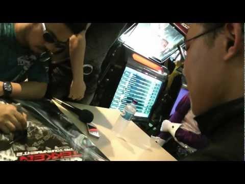 Katsuhiro Harada game Director/Chief Producer of Tekken in Singapore - Adam Rick Taylor