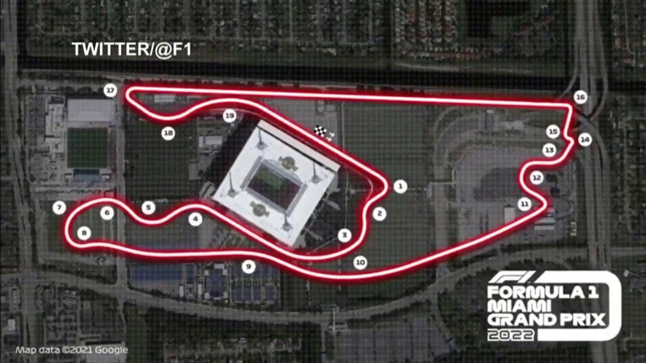 F1 to hold Miami Grand Prix from 2022 onwards