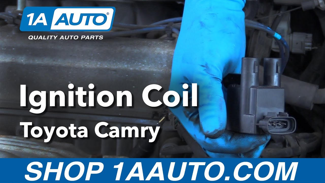 how to replace ignition coils 97 01 toyota camry [ 1280 x 720 Pixel ]