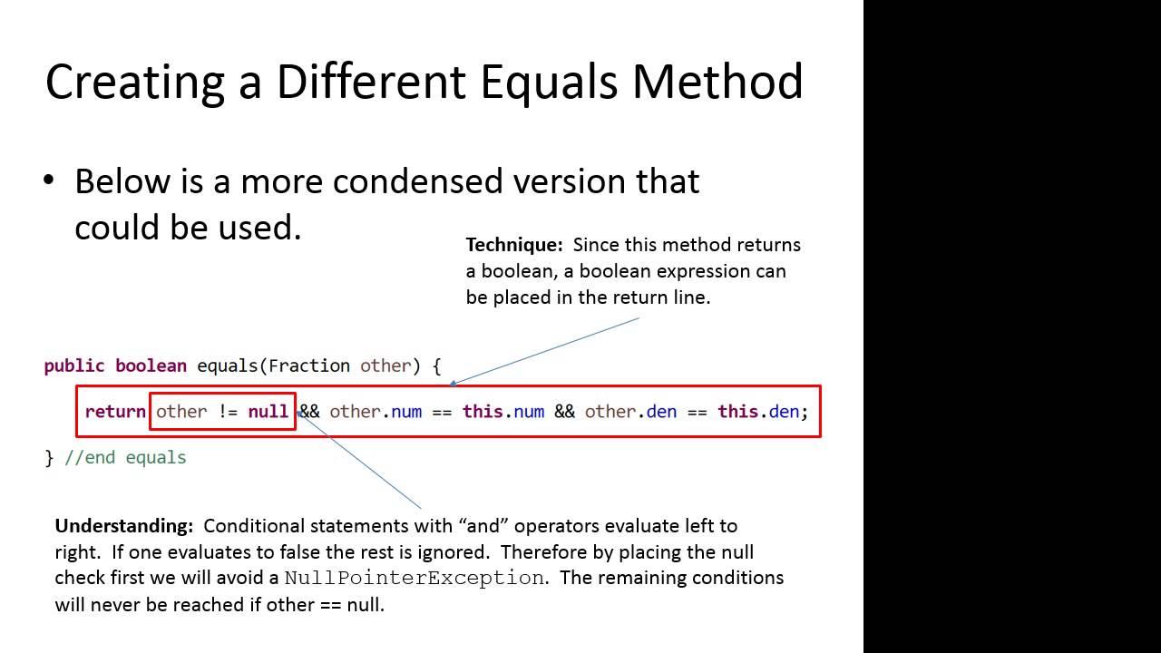 Java - String equals() Method