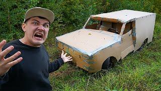 Купили на аукционе автомобиль за 150 тысяч а он оказался картонным