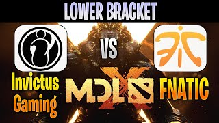 Invictus Gaming vs Fnatic | Bo3 | MDL Chengdu Major 2019 LIVE | NO CASTER | Dota 2 Pro