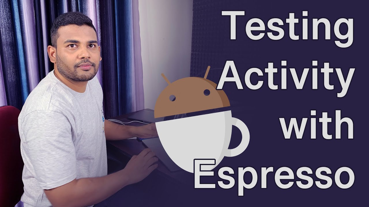 Android Test Activity with Espresso