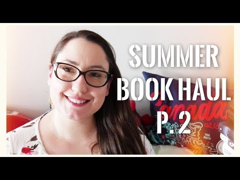 GIANT SUMMER BOOK HAUL, P. 2 // young adult