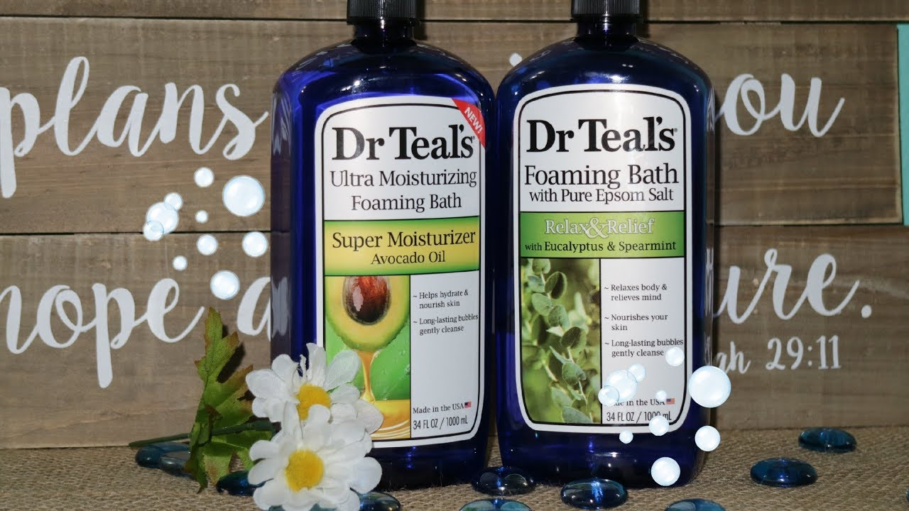 1e03c68dd9f70 Product Review | Dr. Teal's Foaming Bath Epsom Salt | The Best Therapeutic  Bath Ever! | Body Care