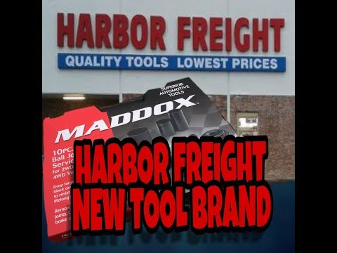 Epic Harbor Freight Walk Through | Harbor Freights New Tool Brand!