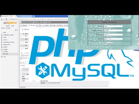 Insert Data Into Database From A Form | PHP - MySql Tutorial For Beginners