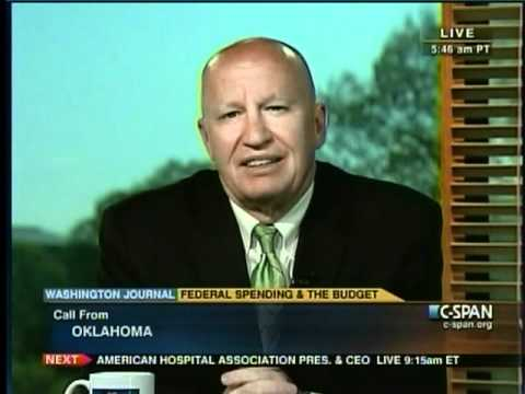 Rep. Kevin Brady on CSPAN's Washington Journal Part Party 1 - Budget Issues, Spending Cuts