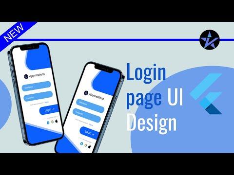 Best Login Screen UI Design - Flutter App UI | Login Page Design using Flutter
