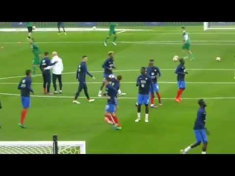 Antoine Griezmann ● Kevin Gameiro ● Kingsley Coman ● France vs Bulgarie 2016