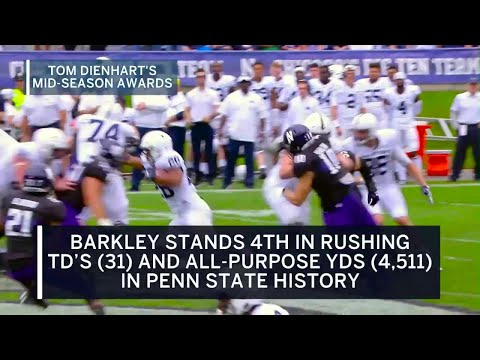Mid-Season Awards: Offensive Player of the Year - Saquon Barkley