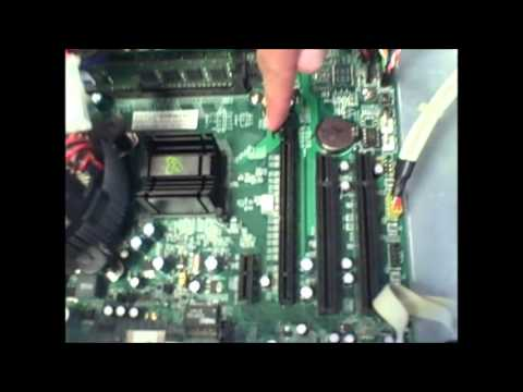 How to install a network interface card into a PC