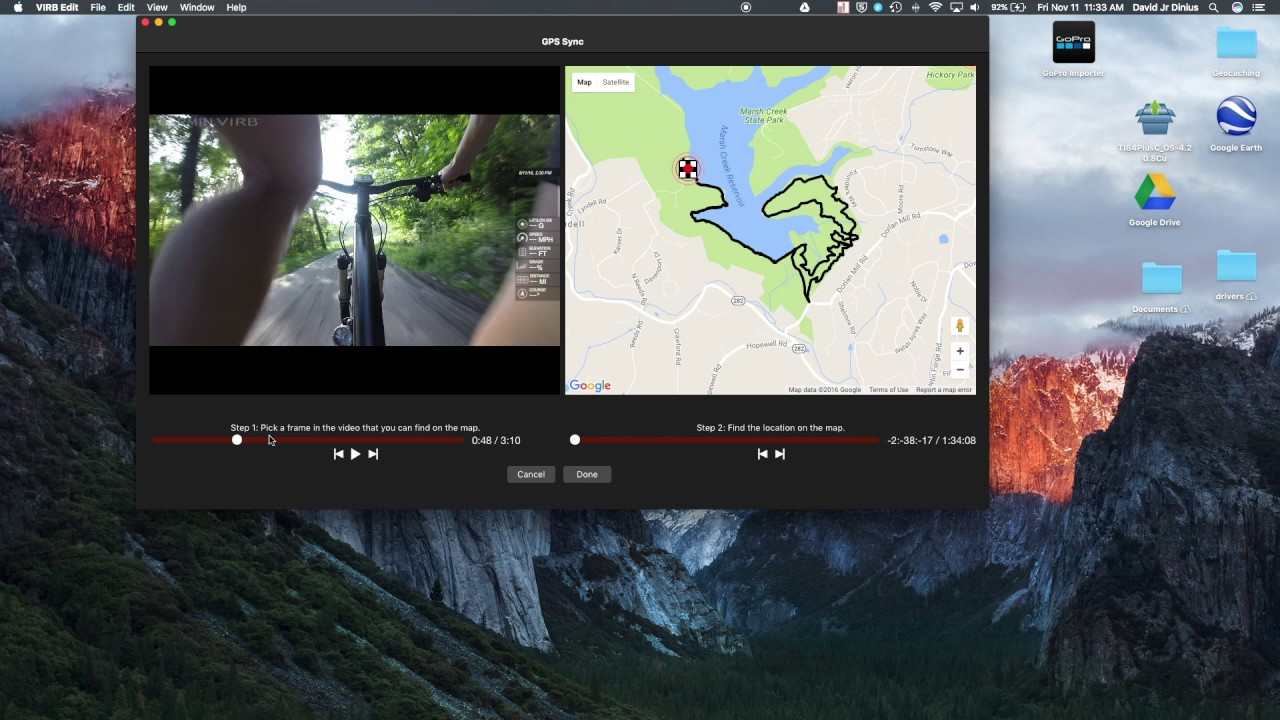 How to add GPS data to GoPro and any Video (Garmin Virb Edit How-to)