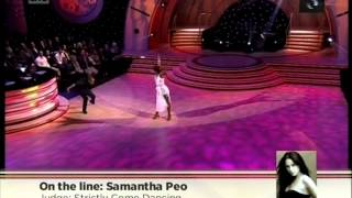 We call Strictly Come Dancing judge - Samantha Peo