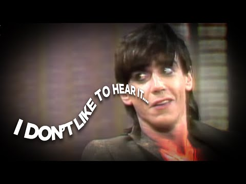 Iggy Pop hates punk rock 1977