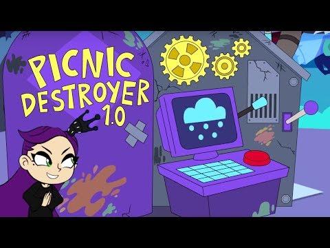 Malice's Magic Weather Machine 🏰 Kiddyzuzaa Land: Episode 3 🏰 Princess Picnic Prank Backfires!