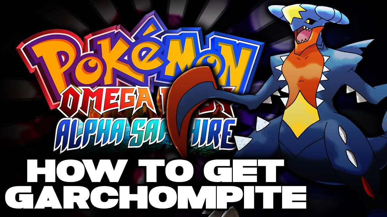 How to get garchompite to mega evolve garchomp pokemon omega ruby alpha sapphire youtube - How to mega evolve a pokemon ...