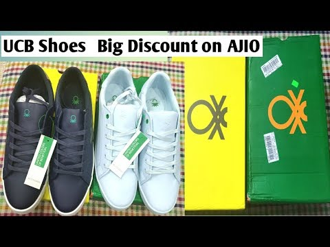 AJIO SALE 2019 || SHOE UNBOXING HAUL || UCB SHOES || MEN'S FASHION ||