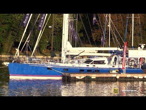 2015 Paradise 60 Sailing Yacht - Deck and Interior Walkaround - 2017 Annapolis Sail Boat Show