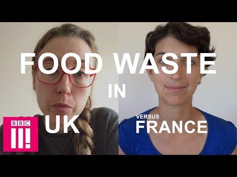 Food Waste In The UK Versus France