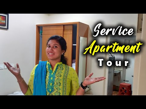 😍Service Apartment Tour in Coimbatore// Best place to stay//affordable cost 👍