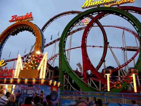 Olympia looping grootste reizende coaster ter wereld kermis d ren annakirmes 29 juli 2009 - Thuis kussens van de wereld ...