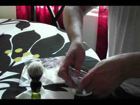 Shaving Soap Sample Demo Original - YouTube